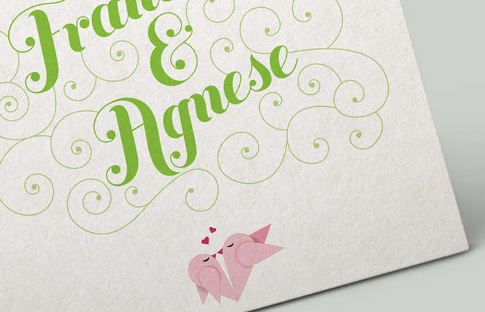 WEDDING INVITATION+MENU